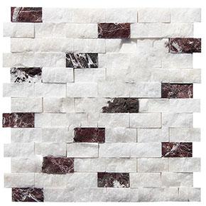 23x48 mm Beyaz Fon Doğaltaş Afyon-Vişne Mix Patlatma